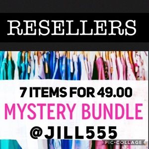 Resellers Mystery box 7 items for 49.00